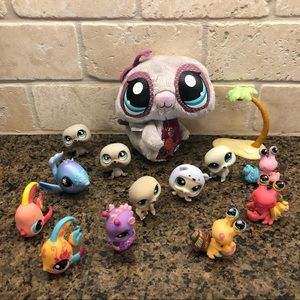 Lot of Vintage Littlest Pet Shop Pets Lps EUC